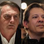 Pesquisa DataPoder 360 dá empate técnico entre Haddad e Bolsonaro