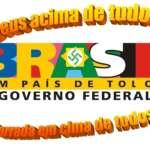 Vaza a logomarca do governo Boçalnaro