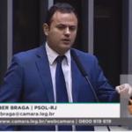 """Deputado Glauber  fala que o partido de Bolsonaro é o """"partido só laranja"""""""