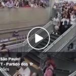 Lulaço na rodoviária do Tietê em São Paulo