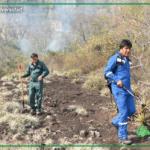 Evo Morales arrisca sua vida para apagar o incêndio na Amazônia