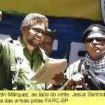 Manifesto, objetivos, unidade do povo, aliança com o ELN, paz com justiça social, Assembleia Constituinte
