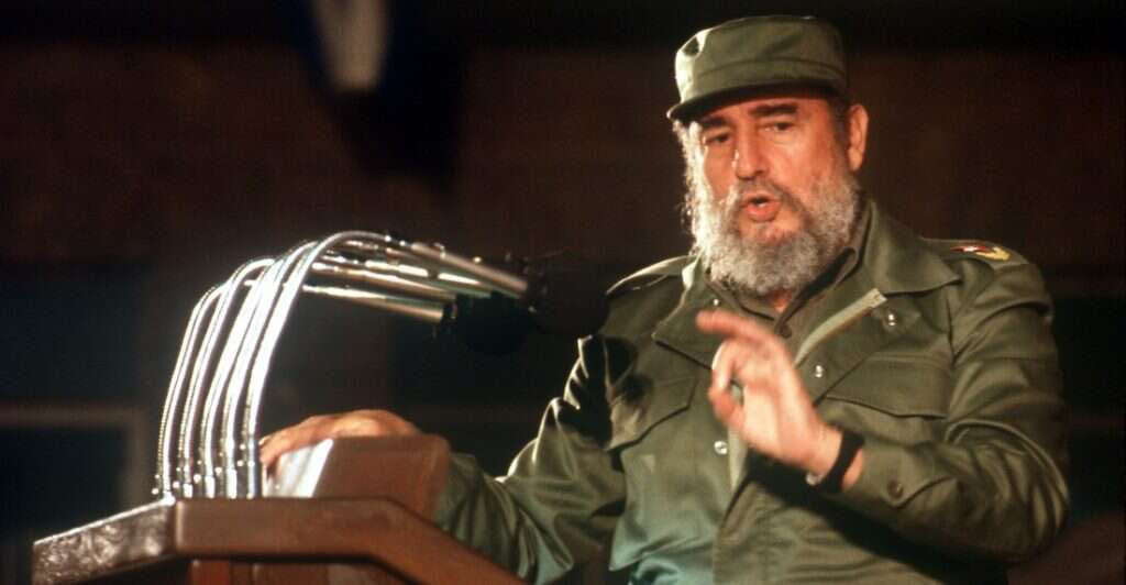 Fidel Castro tribuna