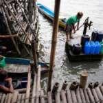 Afundamento: cidades filipinas enfrentam o início do lento desastre