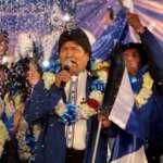 Evo Morales vence as eleições presidenciais já no primeiro turno