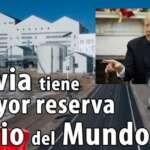 A Bolívia possui a maior reserva de lítio do mundo: 21 milhões de toneladas