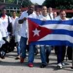 Aos médicos cubanos que chegam hoje à Itália, muito obrigado!