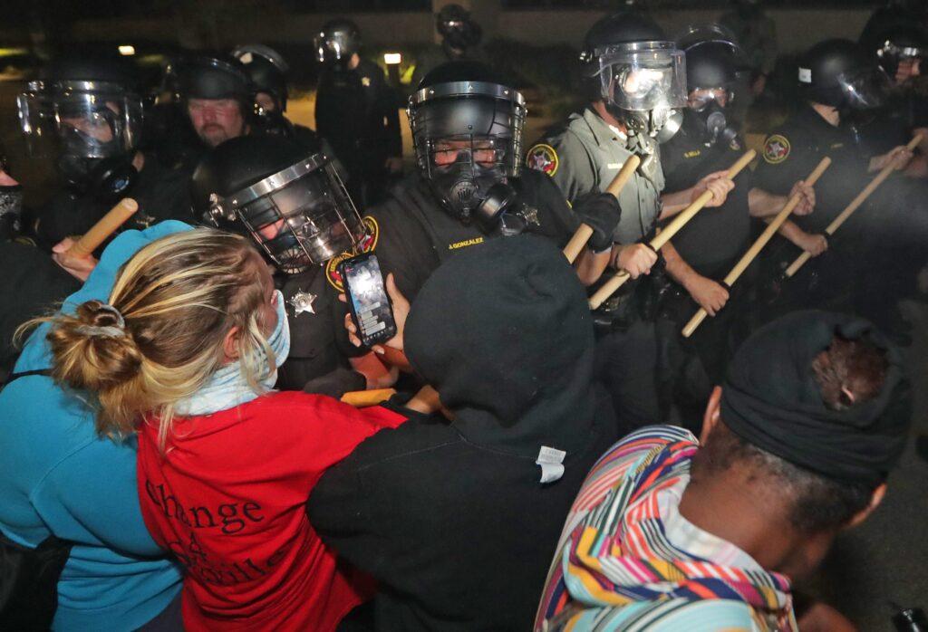protesto USA