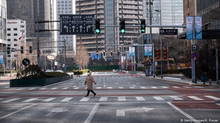 ruas vazias