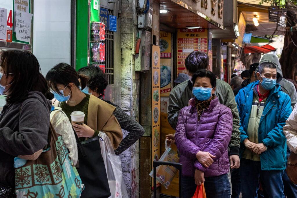 rua chinesa