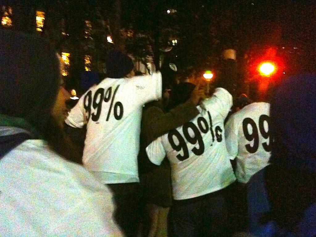 protesto 99%