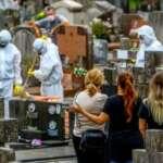 Brasil tem pior semana da pandemia com mais de 19,6 mil mortes