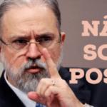 "É proibido chamar Aras de ""Poste Geral da República"" e Bolsonaro de ""genocida"""